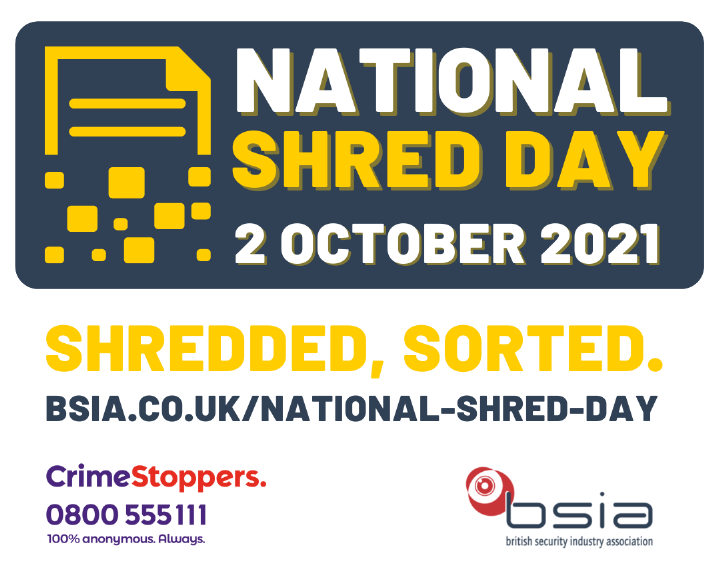 BSIA's National Shred Day logo
