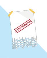 Image icon of shredded document