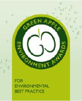 Shred Station wins International Green Apple Environment Award